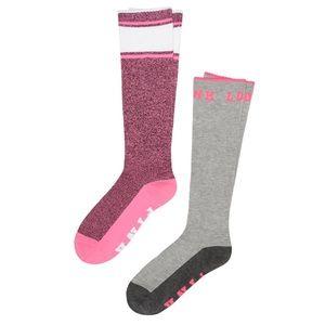 Victoria's Secret PINK Knee High Socks 2 Pair Pack